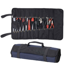 Oxford Canvas Chisel Roll Rolling Repairing Tool Utility Bag Multifunctional With Carrying Handles Brand New