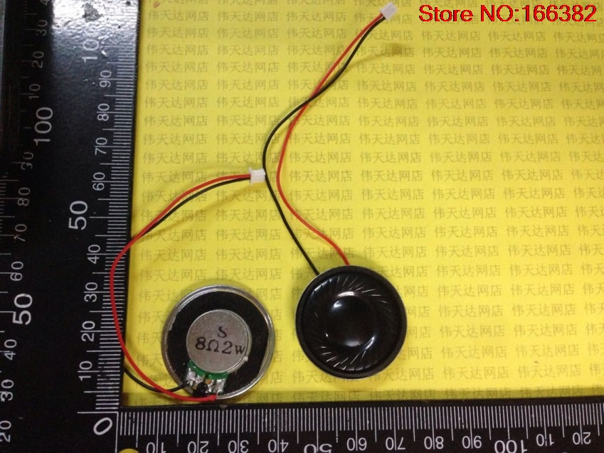 4PCS Electronic dog GPS navigation speaker / terminal line 1.25 flat 2W 8R / Europe 30MM 3CM(China (Mainland))