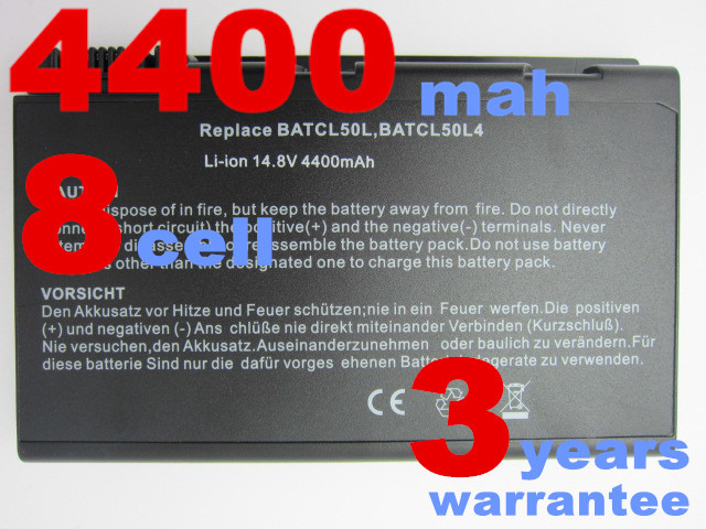 8cells laptop battery for ACER TravelMate 2350 290 290D 290E 291 292 293 29X 4050 4051 4052 4053 4150 4151 4152 4153 4154 4650(China (Mainland))