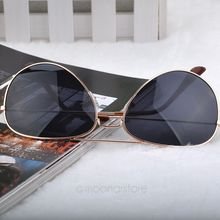 UV Protection Fashion Popular Cool Sunglasses Versatile for use Goggle AVIATOR Metal Eyewear Bat Mirror J