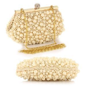 NewLuxury Lady Pearl Shaped Evening bags Shoulder Clutch Accessories Jewelry #2014<br><br>Aliexpress