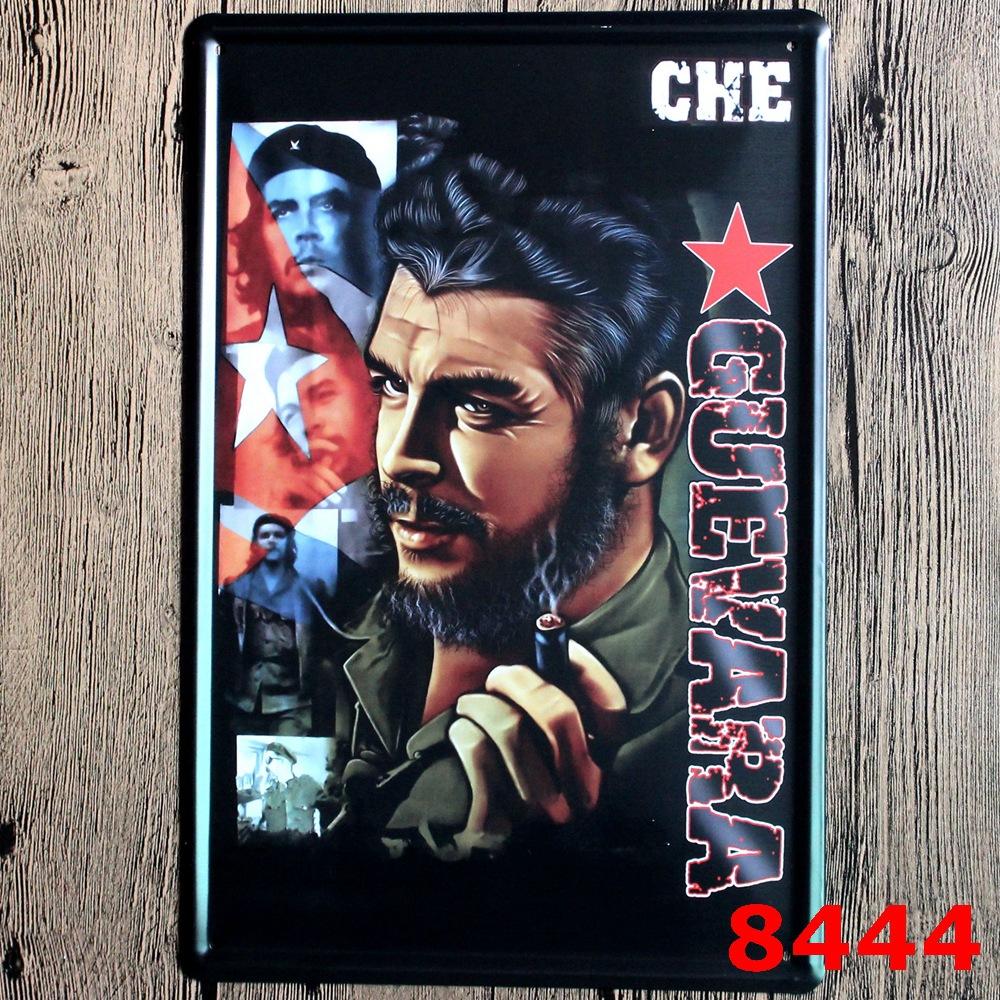 20*30cm che GUEVARA Metal Printing Wall Sticker Vintage Style Tin Sign Metal Tin Painting Pub AND Home DECOR english poem(China (Mainland))