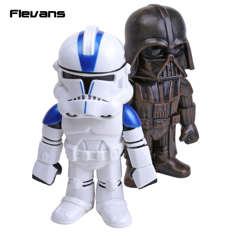 Star Wars Darth Vader Clone Trooper PVC Action Figures Collectible Toys 8 20cm 2pcs/set