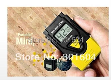 3 IN 1 digital wood moisture meter hardened materials sawn timber moisture meter DM1100(China (Mainland))