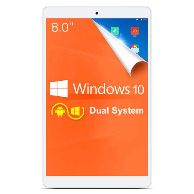 Teclast X80HD Win10 и android-управления 4.4 двойной загрузки планшет 8 дюймов IPS 1280 X 800 Intel Z3735F четырехъядерных процессоров 2 ГБ оперативной памяти 32 ГБ ROM микро-hdmi планшет шт