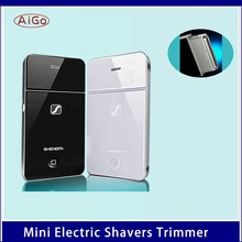 15 New Brand Rechargeable Razor , Traveller Professional Shavers Trimmer Beard Shaving Brand Rechargeable Razor Safety traveller(China (Mainland))