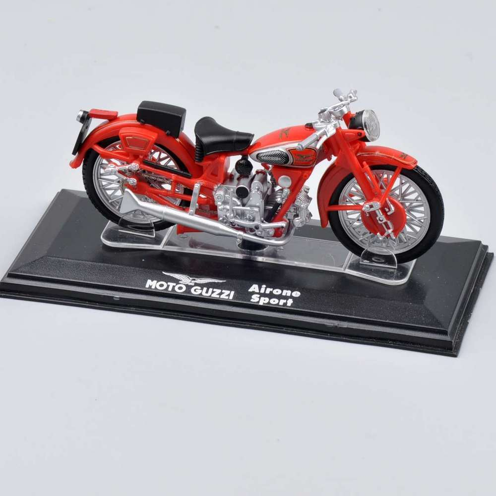2016 Fashionable Red Color 1/22 Scale Moto Guzzi Airone Sport Motorcycle Italeri Diecast Model Toy Collection For Gifts A(China (Mainland))