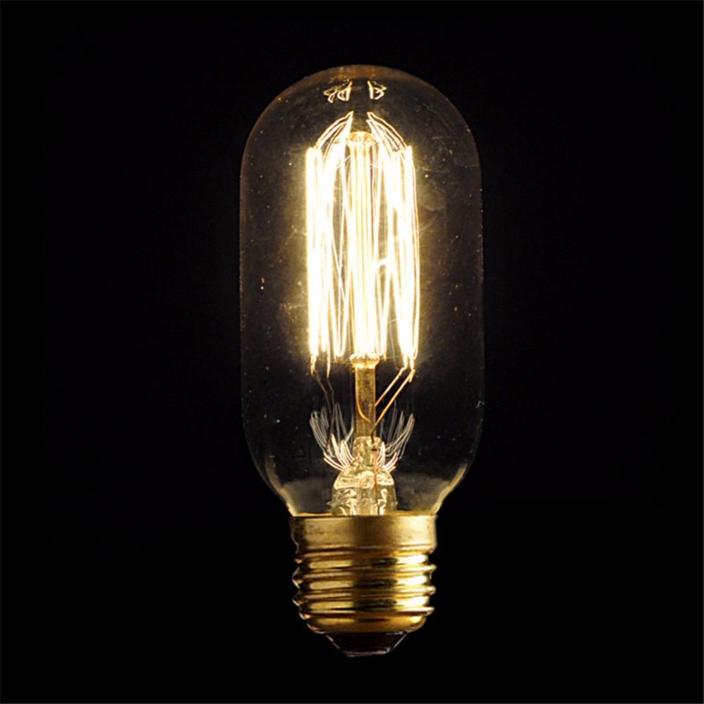 LightInBox T45 Tungsten Bulb E27 Globe Edison Ligh Vintage Retro Antique Industrial Style Lamp Bulb Home Incandescent Bulbs(China (Mainland))