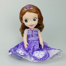 new 1pieces/lot Sophia 30cm Evade glue toy Color box packaging 5style doll Furnishing articles Children's gift(China (Mainland))