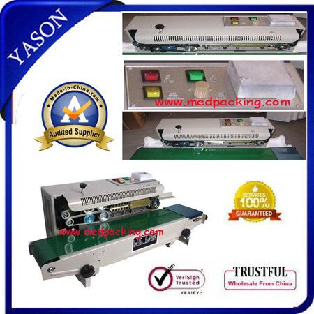 Plastic Film Sealing machine+Vertical Sealing+date printing(China (Mainland))
