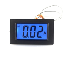 Buy Digital Panel Ammeter AC 20A 220V LCD Display Analog Current Ampere Gauge Meter + CT Coil Blue Back-light Free for $8.21 in AliExpress store