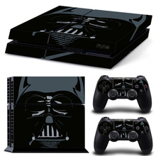 STAR WARS Vinyl PS4 Sticker For Sony Playstation 4 Console+2 controller Sticker For PS4 Skin 1 Set Free Shopping