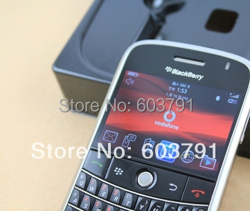 Refurbished Blackberry 9000 Bold Original Unlocked cell phone smartphone Free shipping(China (Mainland))