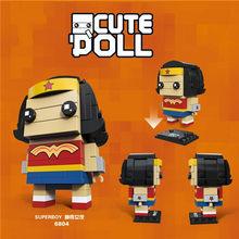 New Avengers Brickheadz 3 Infinito Guerra Ironman Spiderman Marvel Super Herói Tijolo Cabeças Bocks Construção Brinquedo do Miúdo Com Legoing Headz(China)