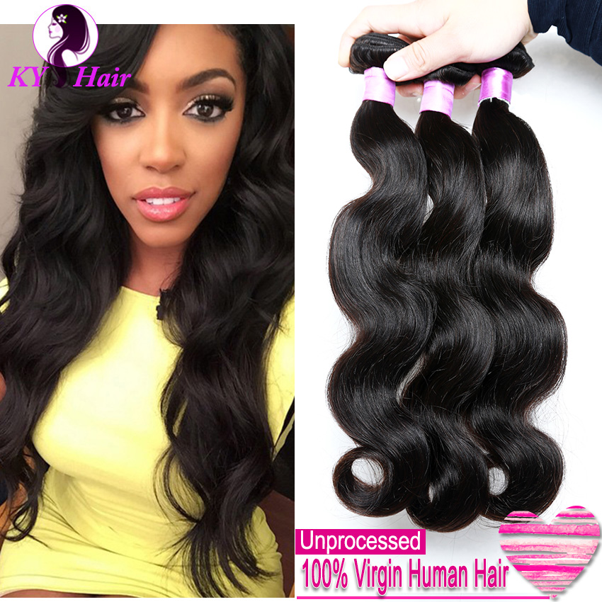Unprocessed 6A Peruvian Virgin Hair Body Wave 3 bundles Peruvian Body Wave Human Hair Weave Rosa Hair Products New Arrival<br><br>Aliexpress