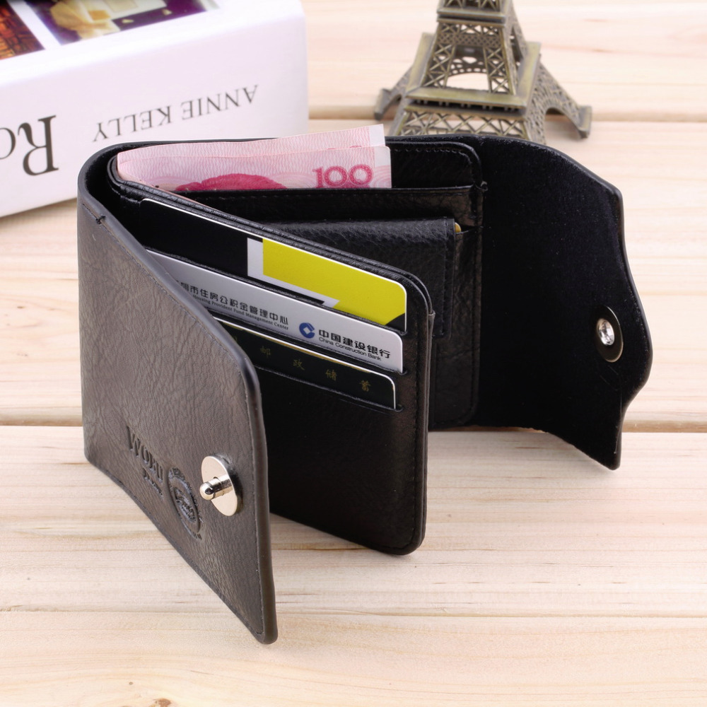 Bifold Wallet Men's PU Leather Credit/ID Card Holder Slim Purse Gift Hot Selling