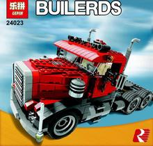 Buy Lepin 24023 Creative Changing Series 3 in1 Truck Set Children Educational Building Blocks Bricks Toys Model Gift for $37.69 in AliExpress store
