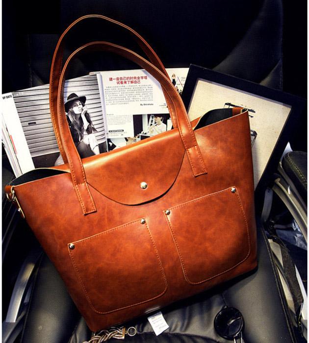 Price Lowest!New 2015 Women Handbag High Quality Vintage Handbags Women Messenger Bags Women Leather Bag Designer Women Bag(China (Mainland))