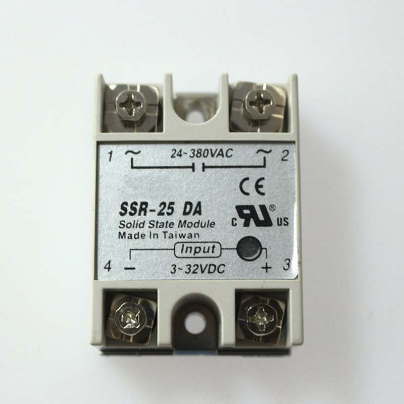 Free shipping SSR 25A SSR25DA 25A solid state relay,single phase ssr<br><br>Aliexpress