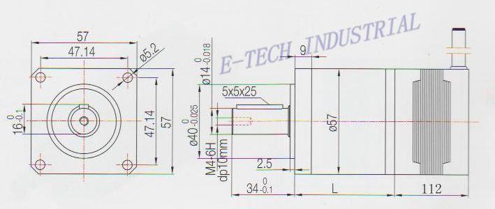 Купить Nema 23 Шаговый Двигатель Планетарный Редуктор Передаточное число 15 20 25 30 40 50 100: 1 NEMA23 Двигателя Длина 112 мм
