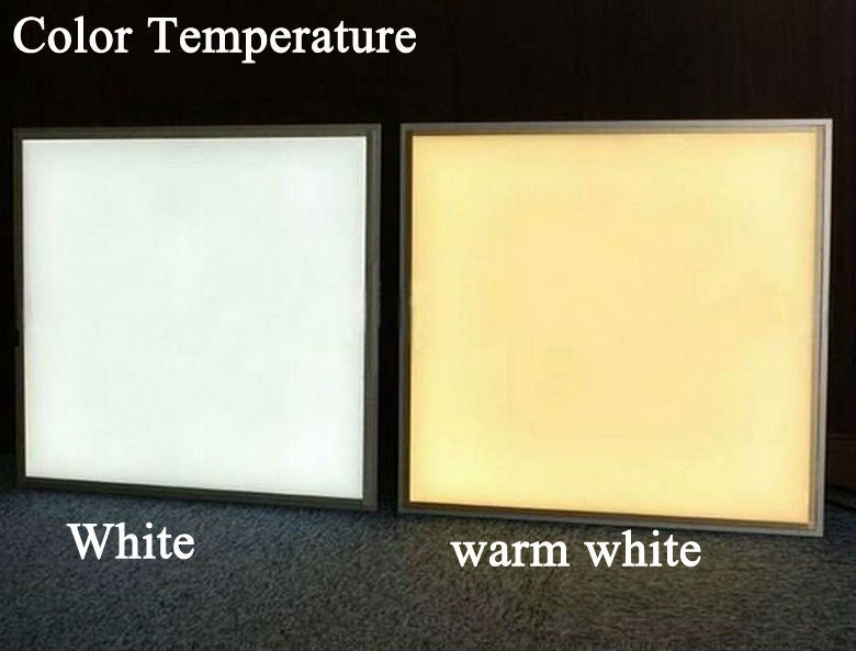 Color Difference foe 600x600mm led panel