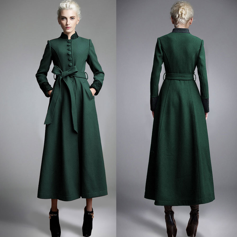 Ladies Long Dress Coats | Down Coat