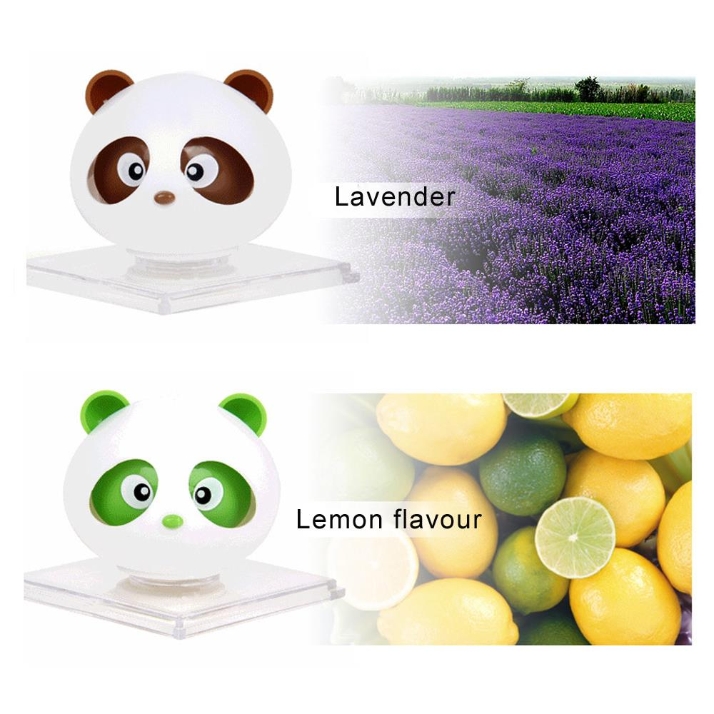 For Color Car air freshener angel Cute Panda fragrance perfume for women brand perfume fantasy parking imported car(China (Mainland))