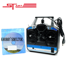 Newest 18 in 1 Simulator Flight 6CH RC Drone Helicopter Simulator RC Quadcopter Control Model 1 2 With CD Disk Fast shipping(Hong Kong)