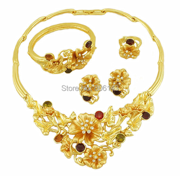 fashion jewelry women jewelry african jewelry set african costume wedding jewelry setsbig jewelry gold plated jewelry set<br><br>Aliexpress