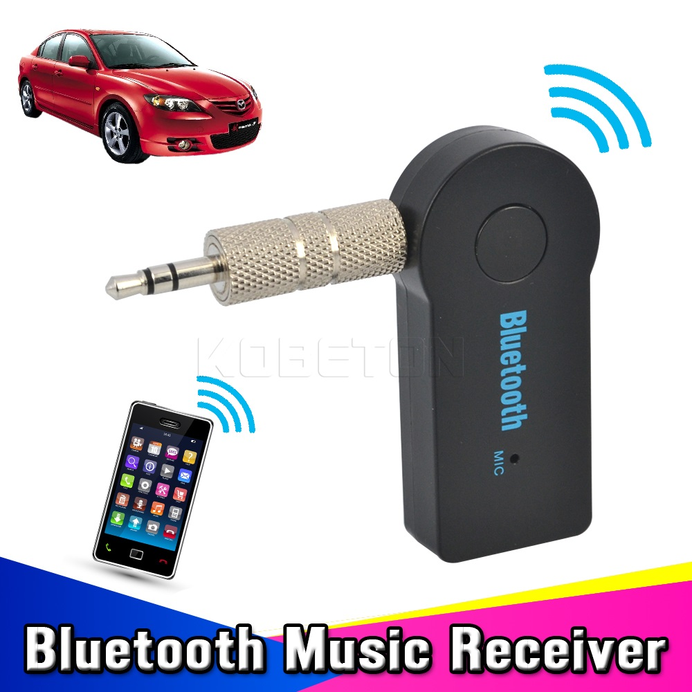 2016 Universal 3.5mm Car Bluetooth Audio Music Receiver Adapter Auto AUX Streaming A2DP Kit For