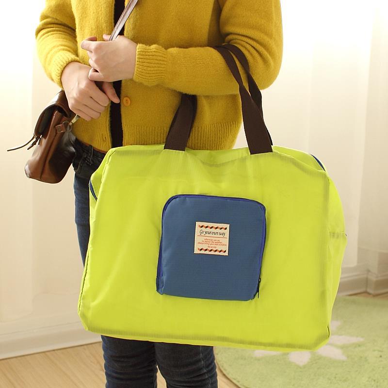 Folding Waterproof Reusable Eco Shopping Travel Shoulder Bag Pouch Tote Handbag - Lazy corner store