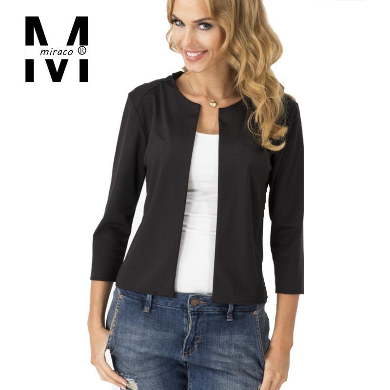 Ladies Black Blazer Jacket