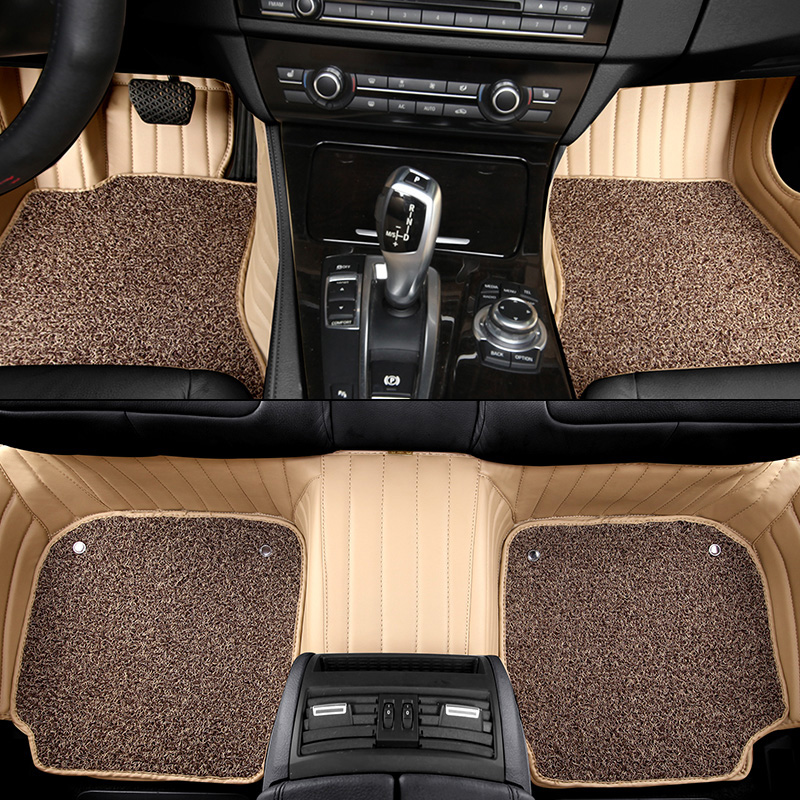 Custom Fit Car Floor Mats For Lincoln MKX MKZ MKC MKT Navigator Car Mat PVC Leather durable Interior Accessories Auto Carpet Set(China (Mainland))