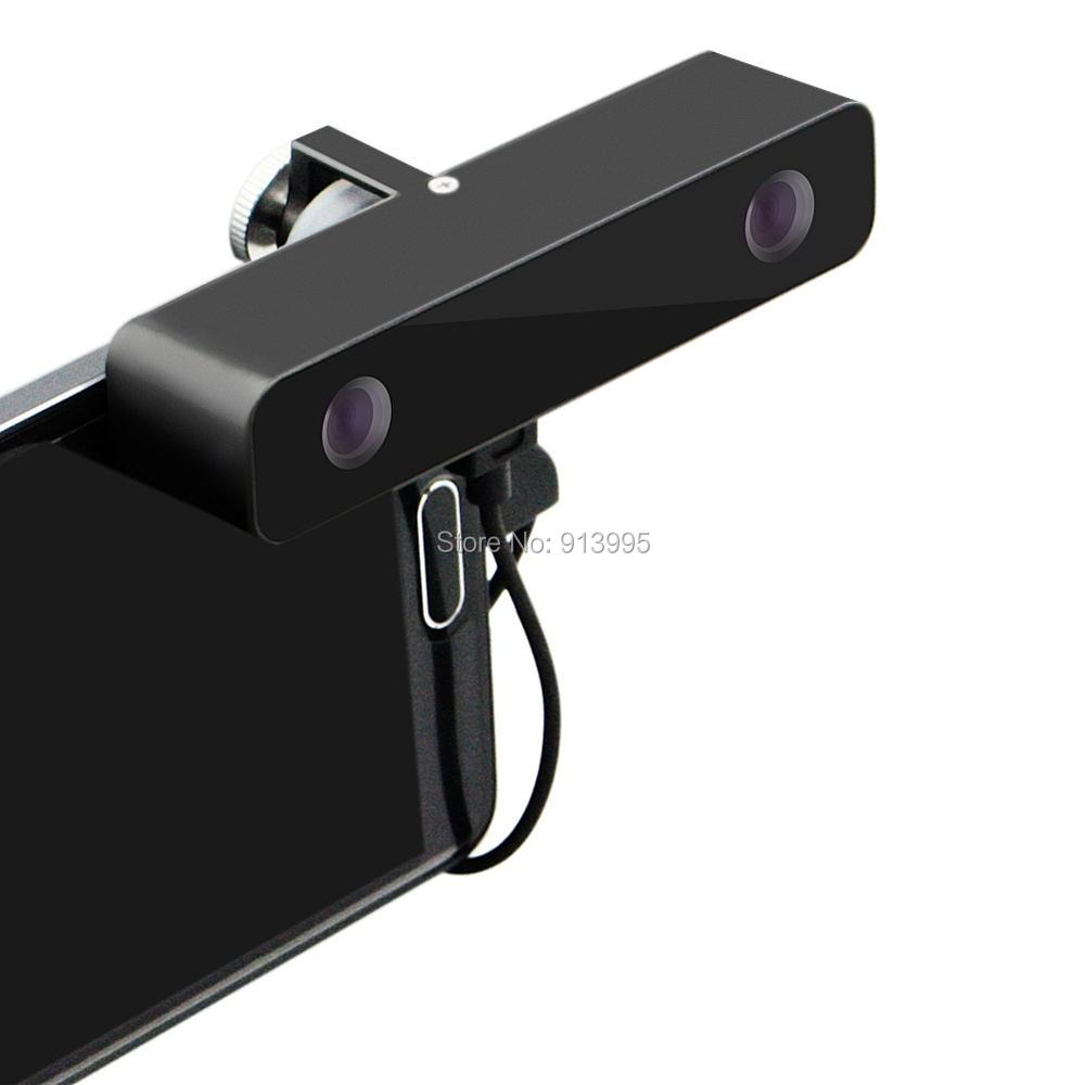 ELP Micro usb mini HD Usb Camera 3D VR 3d virtual reality Video Camera Wide Angle100 Degree for Android Samsung s5 s6 Smartphone(China (Mainland))