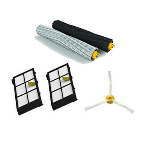 Free Post NEW Tangle-Free Brush + Filters kit for iRobot Roomba Vacuum 800 Series 880 870(China (Mainland))