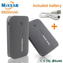 Power Bank double USB External Mobile Backup&protable charger Powerbank Battery for iPhone mobile Phone Universal Charger