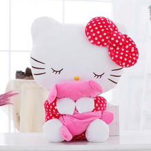 20CM High quality hello kitty plush toys hug pillow fruit KT cat stuffed dolls for girls kids toys gift mini animal plush doll(China (Mainland))