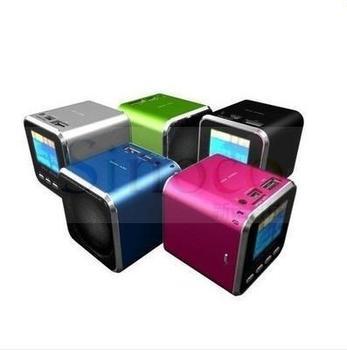 Brand New Music Speaker Mini USB LCD MP3 Player Speaker FM TF Card