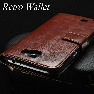 Luxury Vintage Leather Wallet Stand case for Samsung Galaxy Note 2 II N7100 Phone Bag with Card holder (China (Mainland))