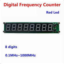 """0.1MHz~1000MHz digital Frequency counter meter tester Cymometer 8 digits 0.56""""LED display(China (Mainland))"""