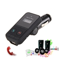 Free shipping Bluetooth MP3 Player Wireless Car FM Transmitter with USB Jack SD Slot Car Kit