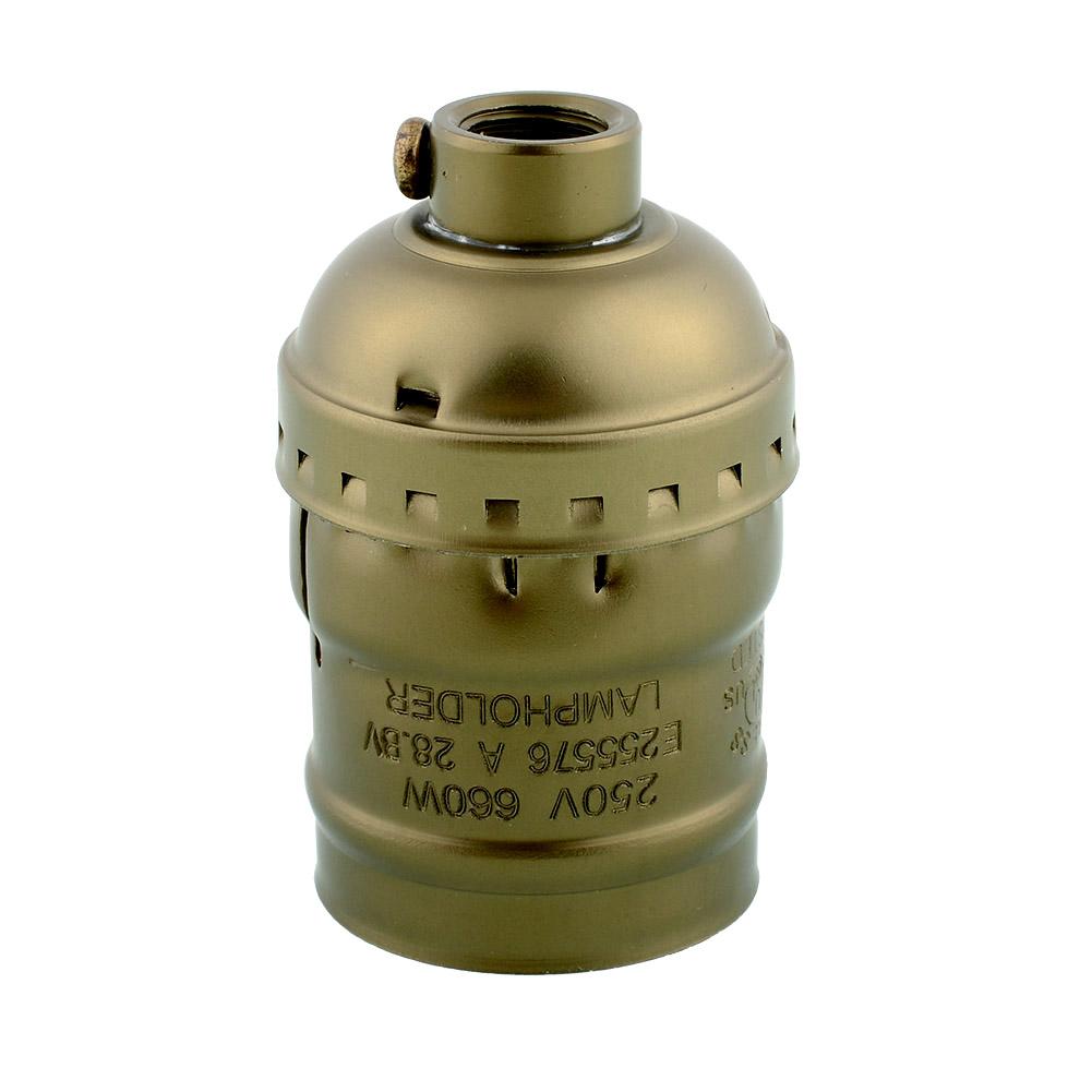 Гаджет  Hot New Vintage Edison E26/E27 Bulb Aluminum Base Lamp Holder No Switch Lighting Accessories 250V 4A None Свет и освещение
