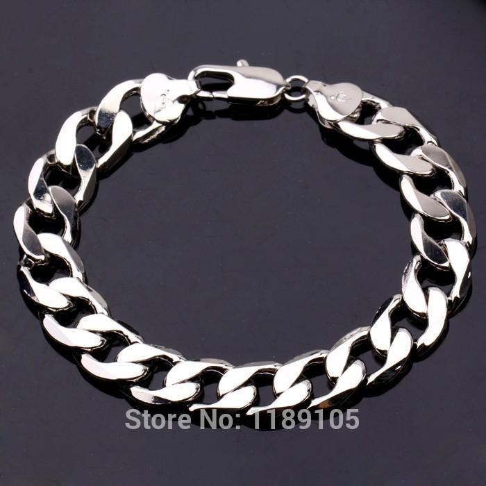 White Bracelet For Men Men's Bracelet 18k White