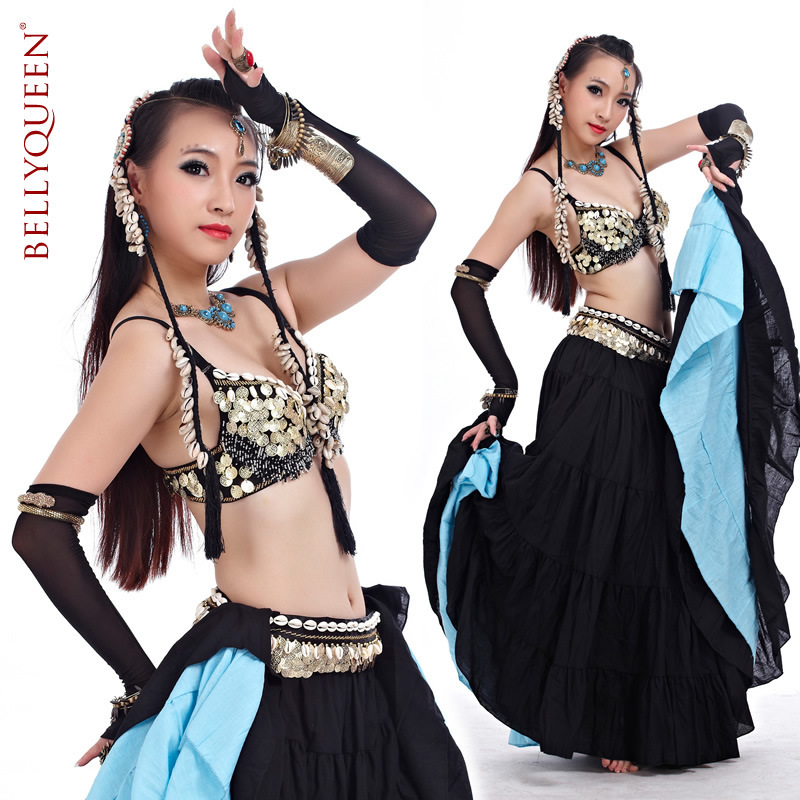 2015 Hot selling tribal belly dance costume for women American style performance dance wear(China (Mainland))