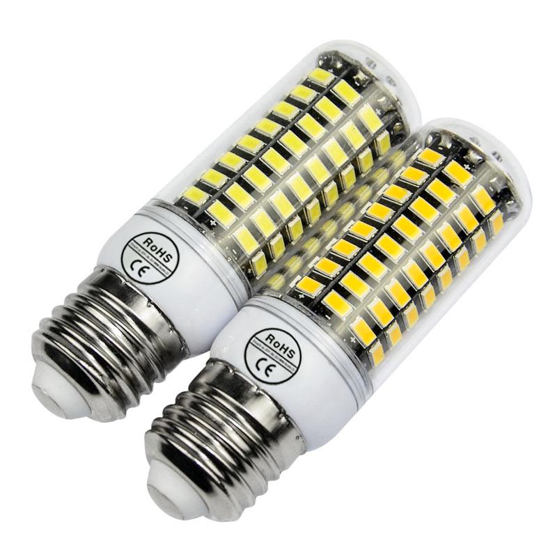 100% Smart IC lampada SMD5735 E27 led lamp E14 LED bulb 220V SMD5730 led spotlight bomblias candle light chandelier(China (Mainland))