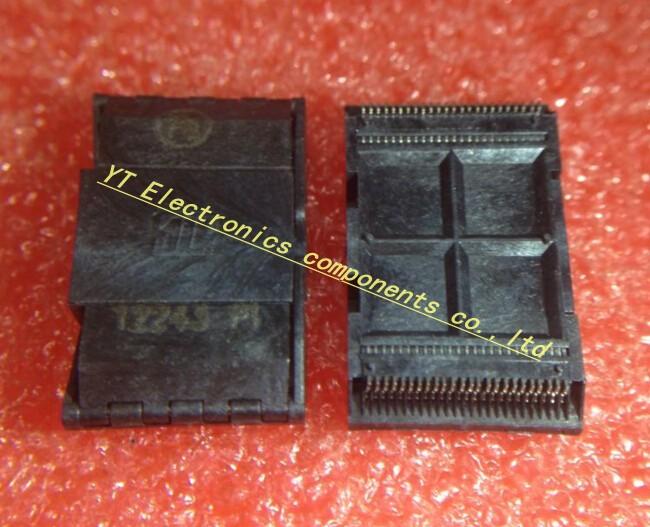 Free Shipping 1pcs SMT TSOP48 TSOP 48 Socket for Testing Prototype 0.5mm best quality.(China (Mainland))