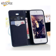 Buy KISSCASE 4S 5S SE Luxury Leather Case Apple iPhone 4 4S 5 5S SE Flip Magnetic Front Back Stand Wallet Cover Card Slot for $2.40 in AliExpress store