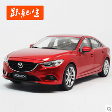 New Mazda 6 ATENZA Third Generation 1:18 Original high quality alloy car model simulation Sports car GIFT toy Collectibles(China (Mainland))