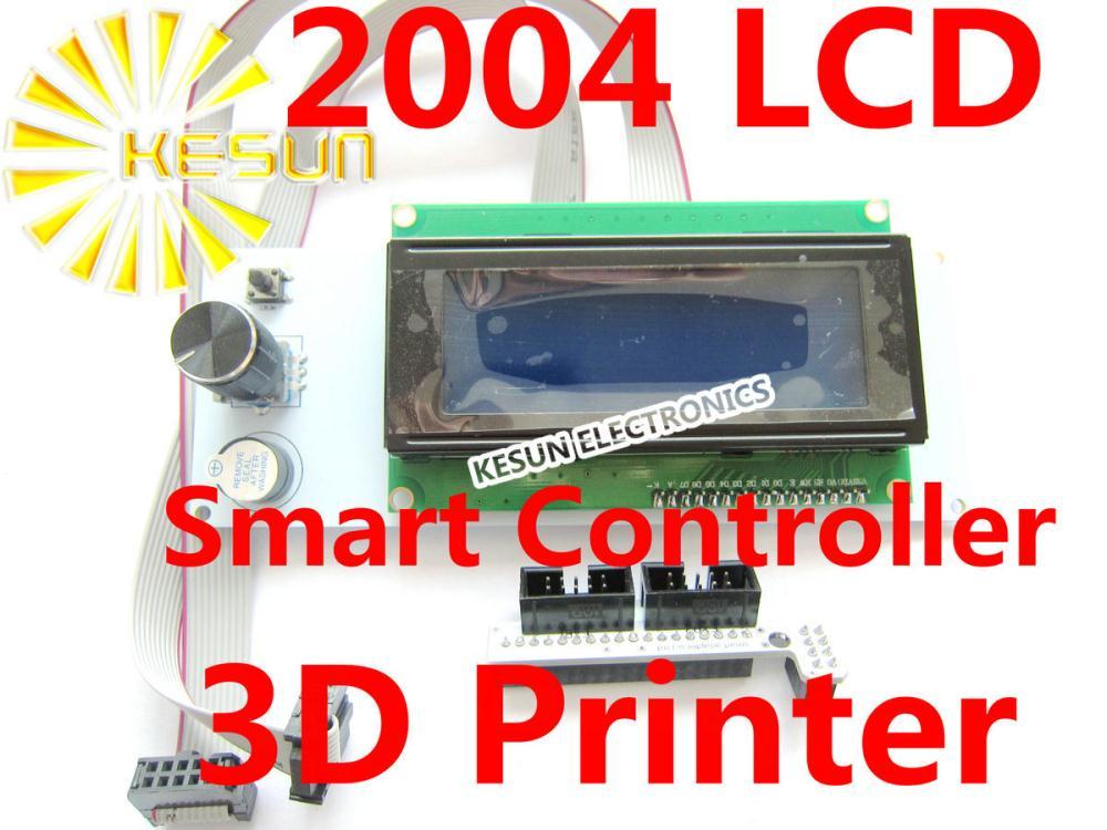 Free shipping 3D printer reprap smart controller Reprap Ramps 1.4 2004 LCD control(China (Mainland))