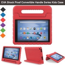 "EVA Shockproof Light Weight Kids Case Super Protection Cover Handle Stand Case For Amazon Fire HD 10 2015  10.1"" Kindle Tablet"